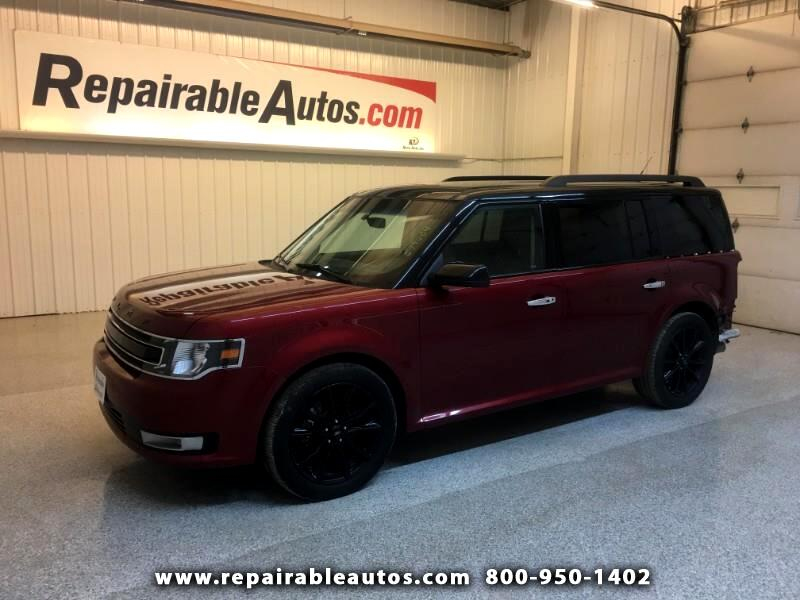 2017 Ford Flex SEL FWD Repairable Rear Damage