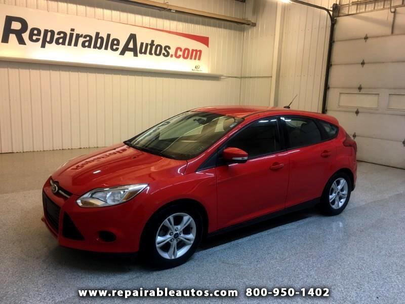2014 Ford Focus SE Repairable Hail Damage