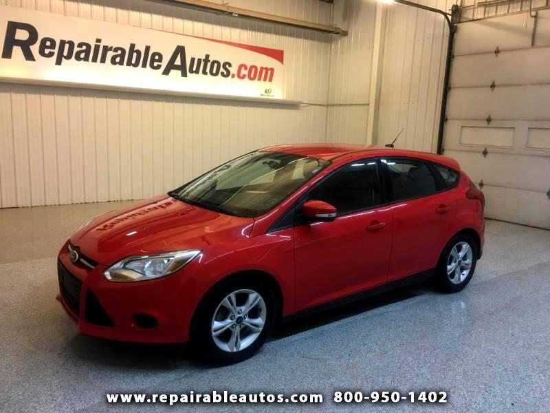 2014 Ford Focus SE Repairable Hail Damage