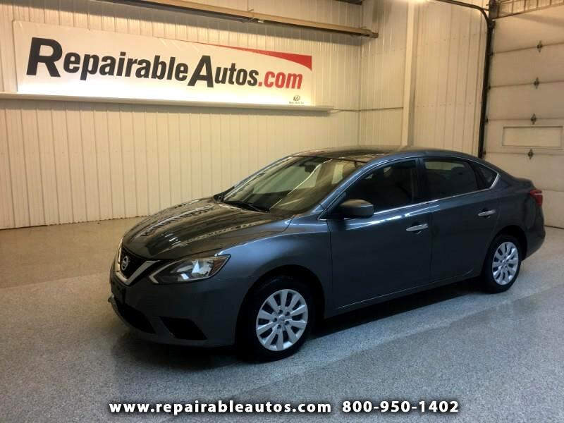 2019 Nissan Sentra Repairable Hail Damage