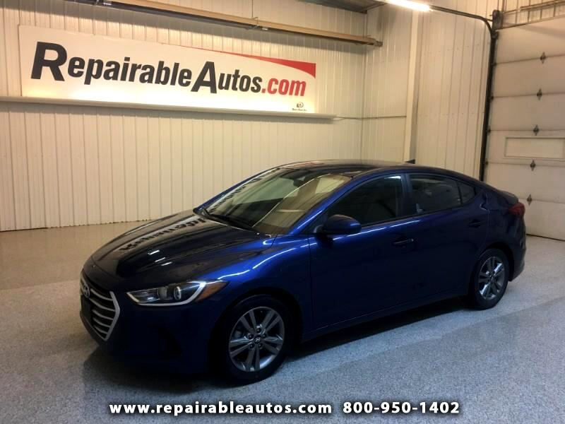 2018 Hyundai Elantra Repairable Hail Damage