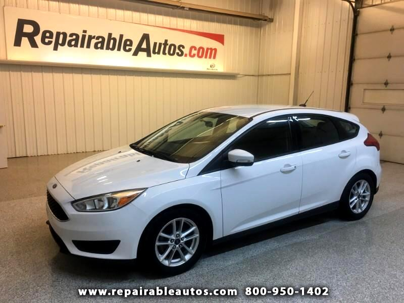 2015 Ford Focus SE Hatch Repairable Hail Damage