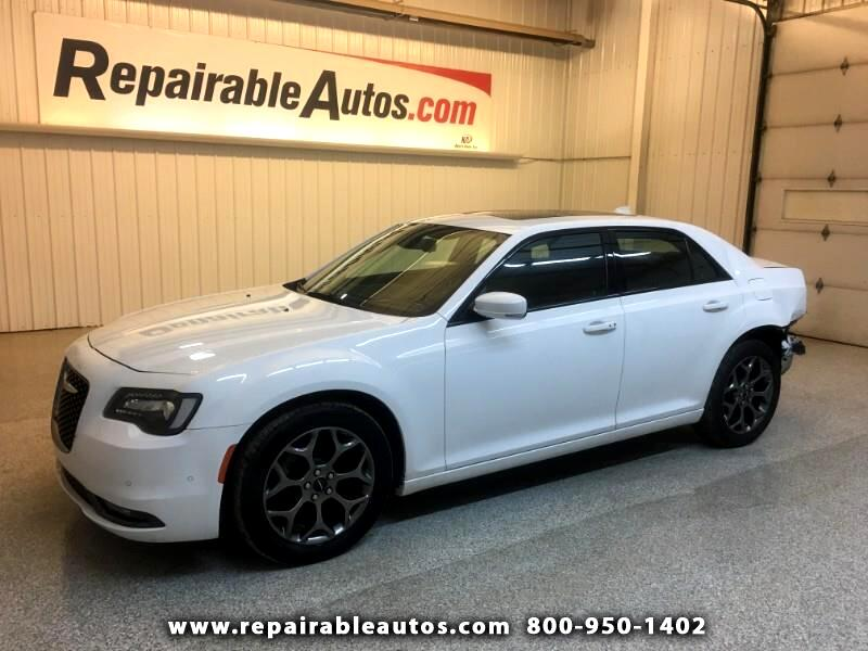 2017 Chrysler 300 S AWD Repairable Rear Damage