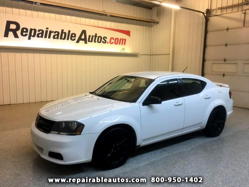 2014 Dodge Avenger Repairable Hail Damage