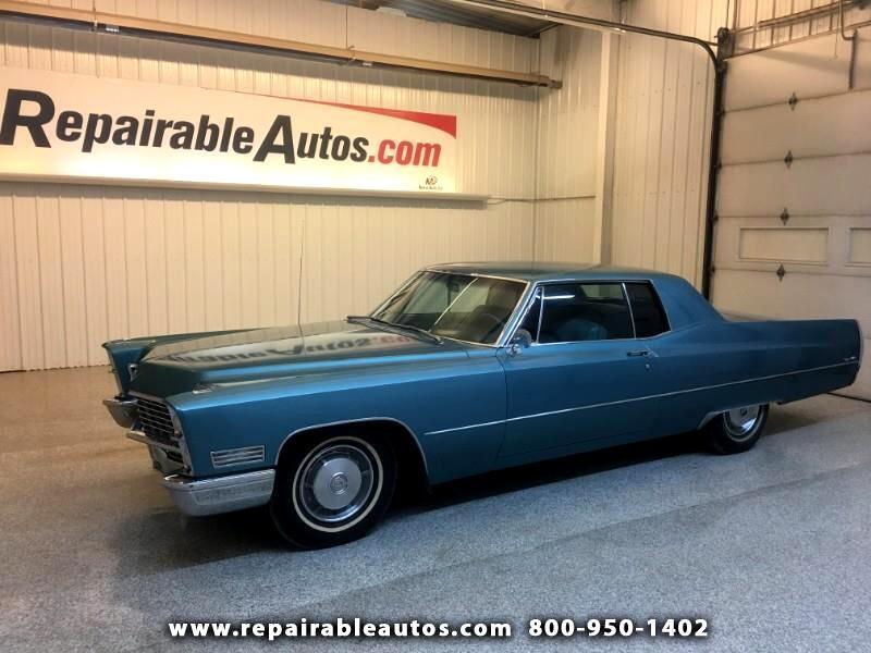 1967 Cadillac Coupe De Ville Everything Original! Call 701-851-0056