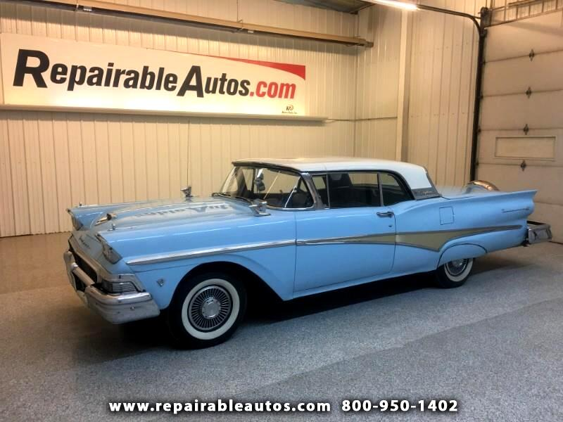 1958 Ford Convertible Retractable V8 All Motors on top work 701-851-0056