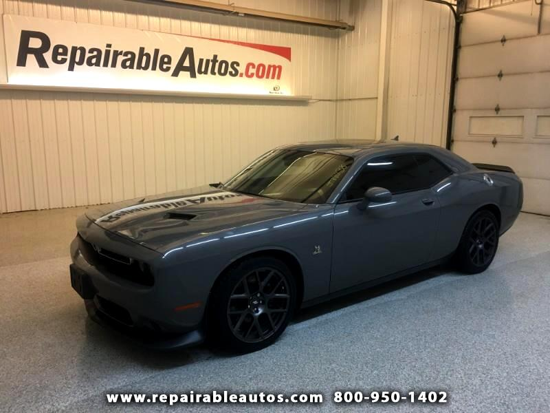 2018 Dodge Challenger R/T SCAT Pack Repairable Water Damage