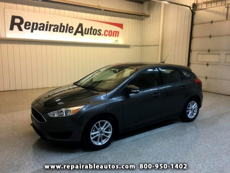 2017 Ford Focus SE Hatch Repairable Hail Damage