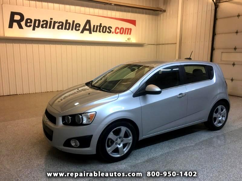 2016 Chevrolet Sonic LTZ Repairable Hail Damage