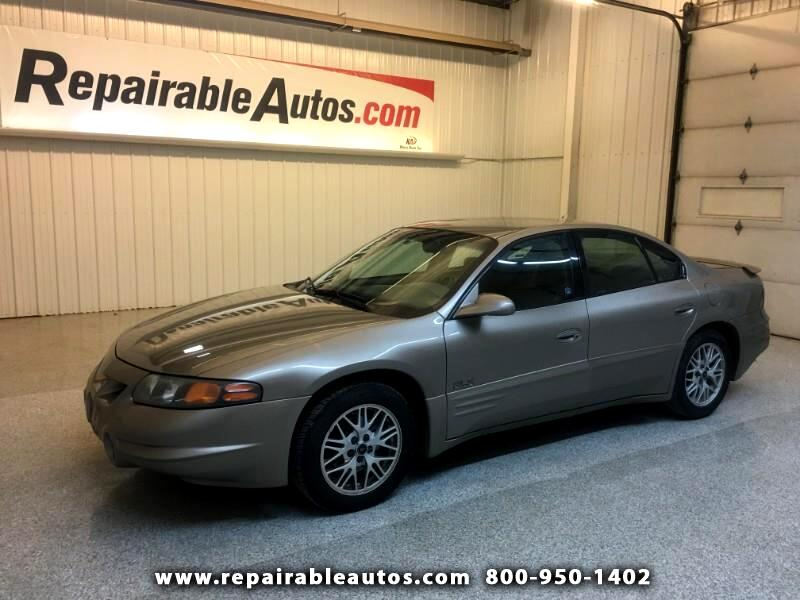 2001 Pontiac Bonneville SLE Local Trade In - Ready to Drive!