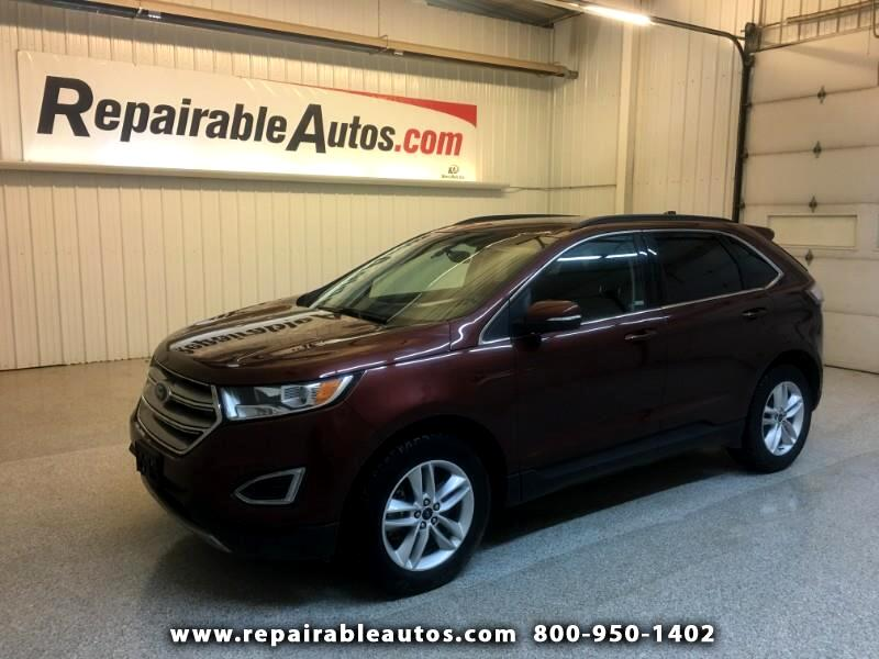 2015 Ford Edge SEL AWD Repairable Hail Damage