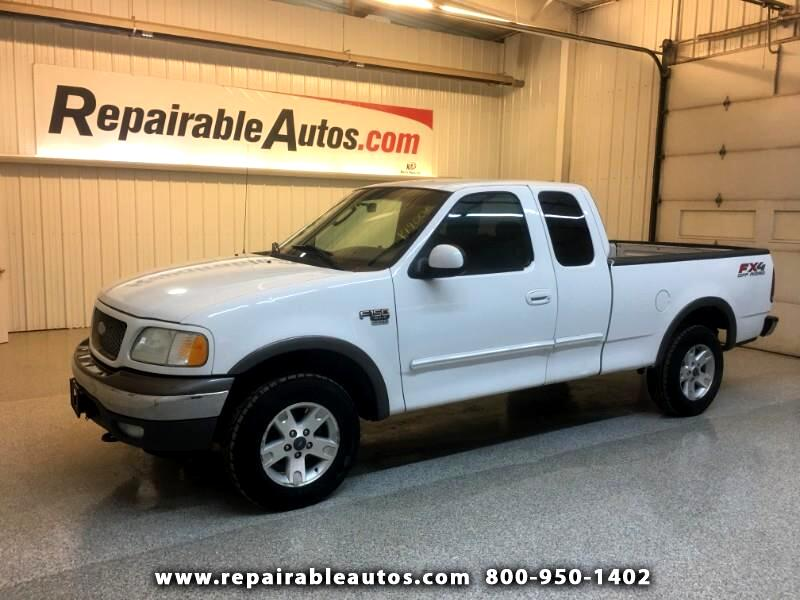 2003 Ford F-150 XLT 4WD Repairable Hail Damage