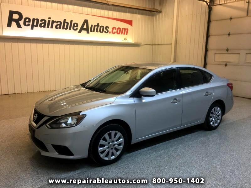 2017 Nissan Sentra Repairable Water Damage