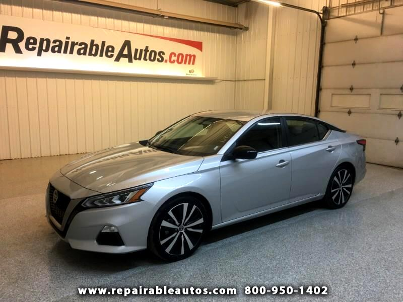2019 Nissan Altima SR Repairable Water Damage