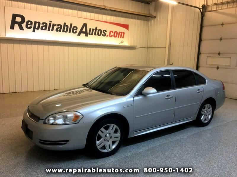 2013 Chevrolet Impala LT Repairable Water Damage