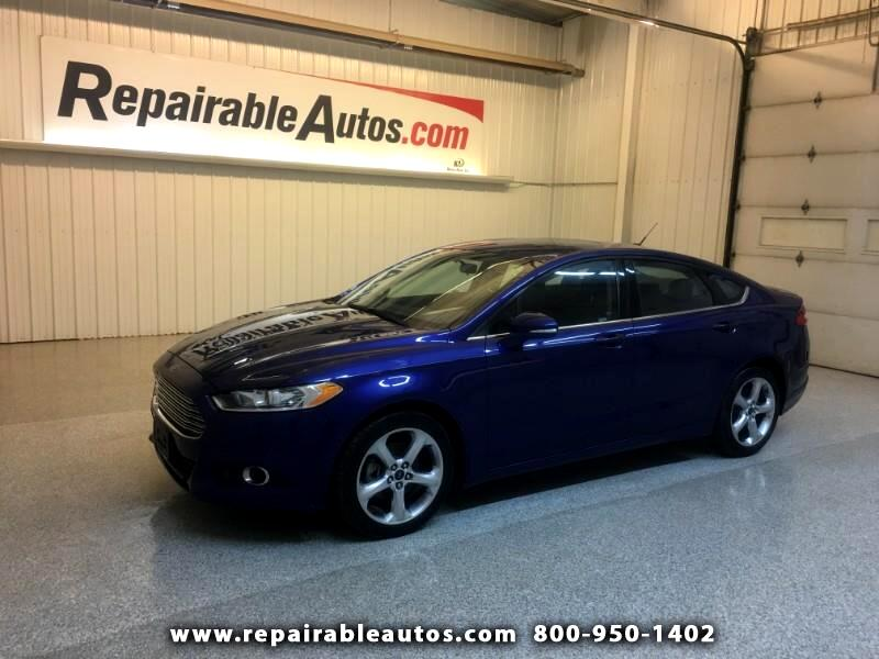 2015 Ford Fusion Repairable Hail Damage