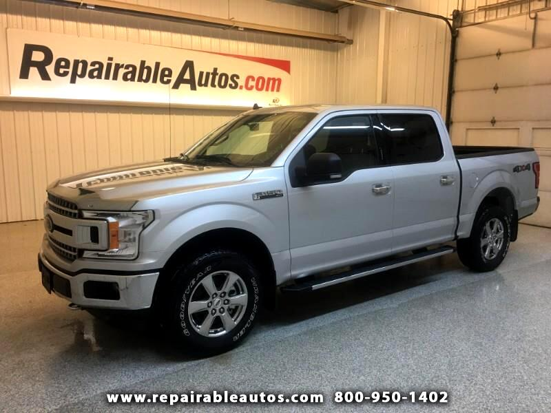 2019 Ford F-150 XLT 4WD Repaired Rear Damage