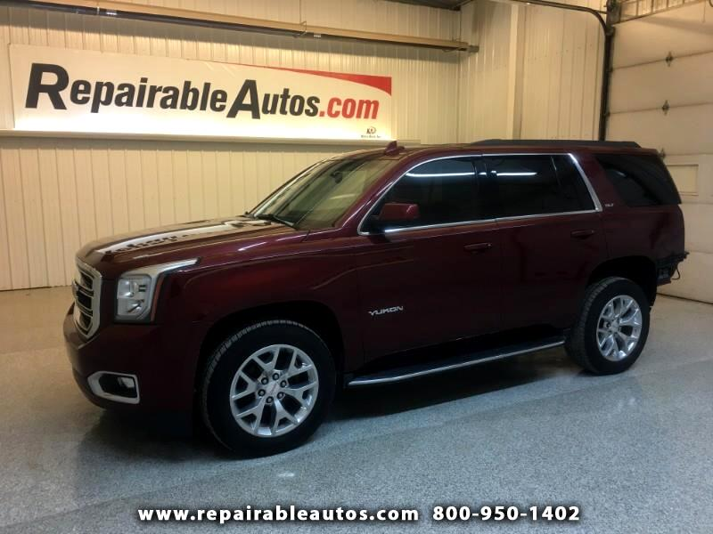 2016 GMC Yukon 4WD Repairable Rear Damage