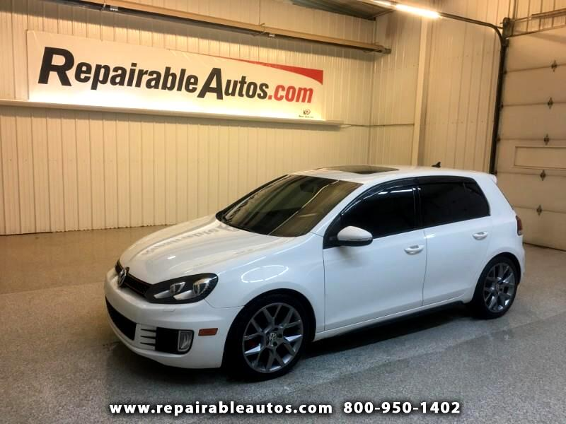 2013 Volkswagen GTI Hatch Repairable Water Damage