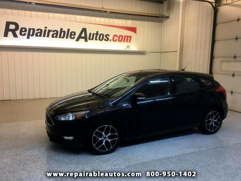 2017 Ford Focus SEL Hatch Repairable Water Damage
