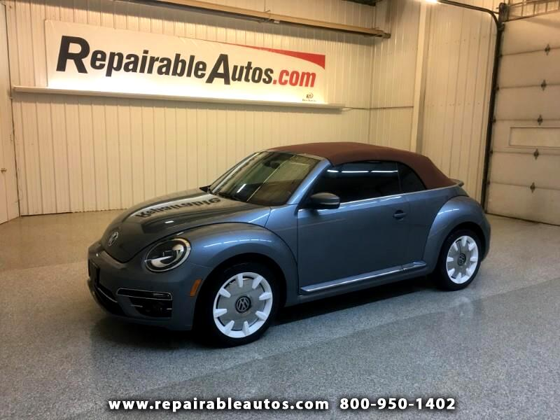 2019 Volkswagen Beetle Convertible Repairable Water Damage