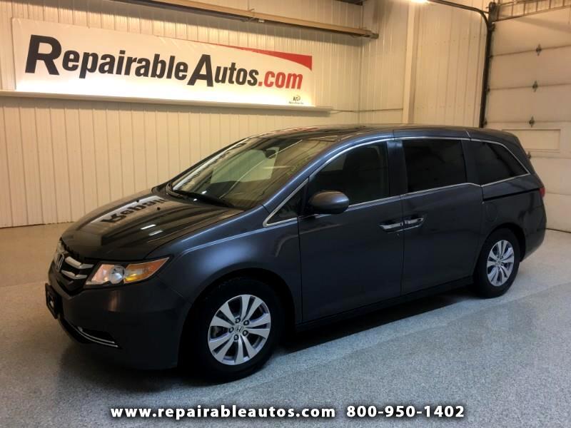2016 Honda Odyssey Repairable Water Damage