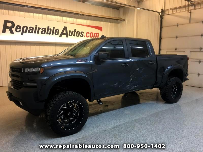 2019 Chevrolet Silverado 1500 RST Crew Cab 4WD Repariable Lt Side Damage