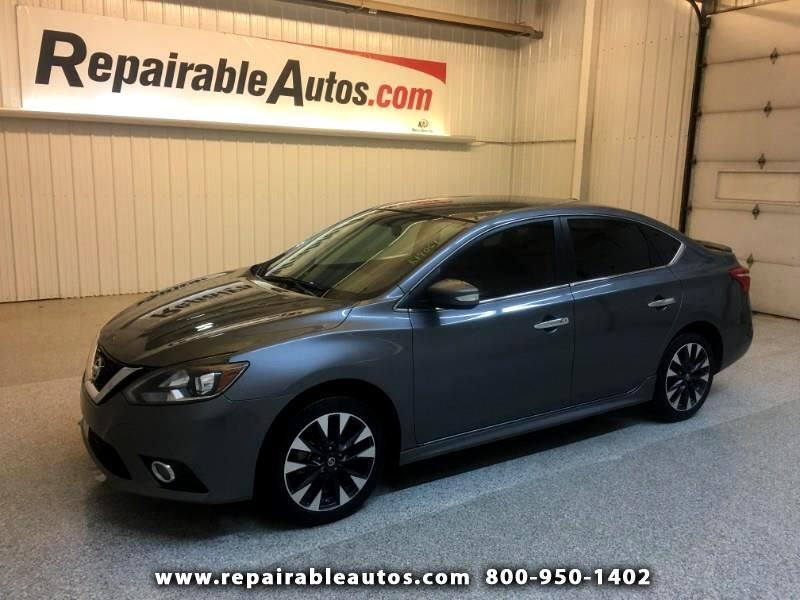 2016 Nissan Sentra SR Repairable Hail Damage