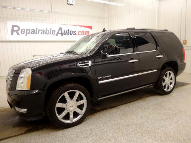 2013 Cadillac Escalade AWD Repairable Garage Smoke Damage