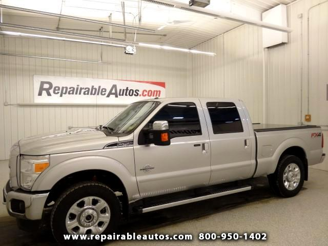 2015 Ford F-250 SD Lariat 4WD Repairable Theft Damage