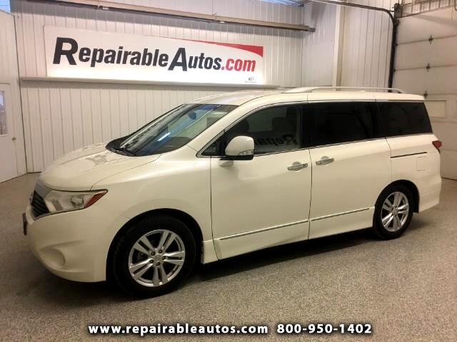 2012 Nissan Quest SL Repairable Rear Damage