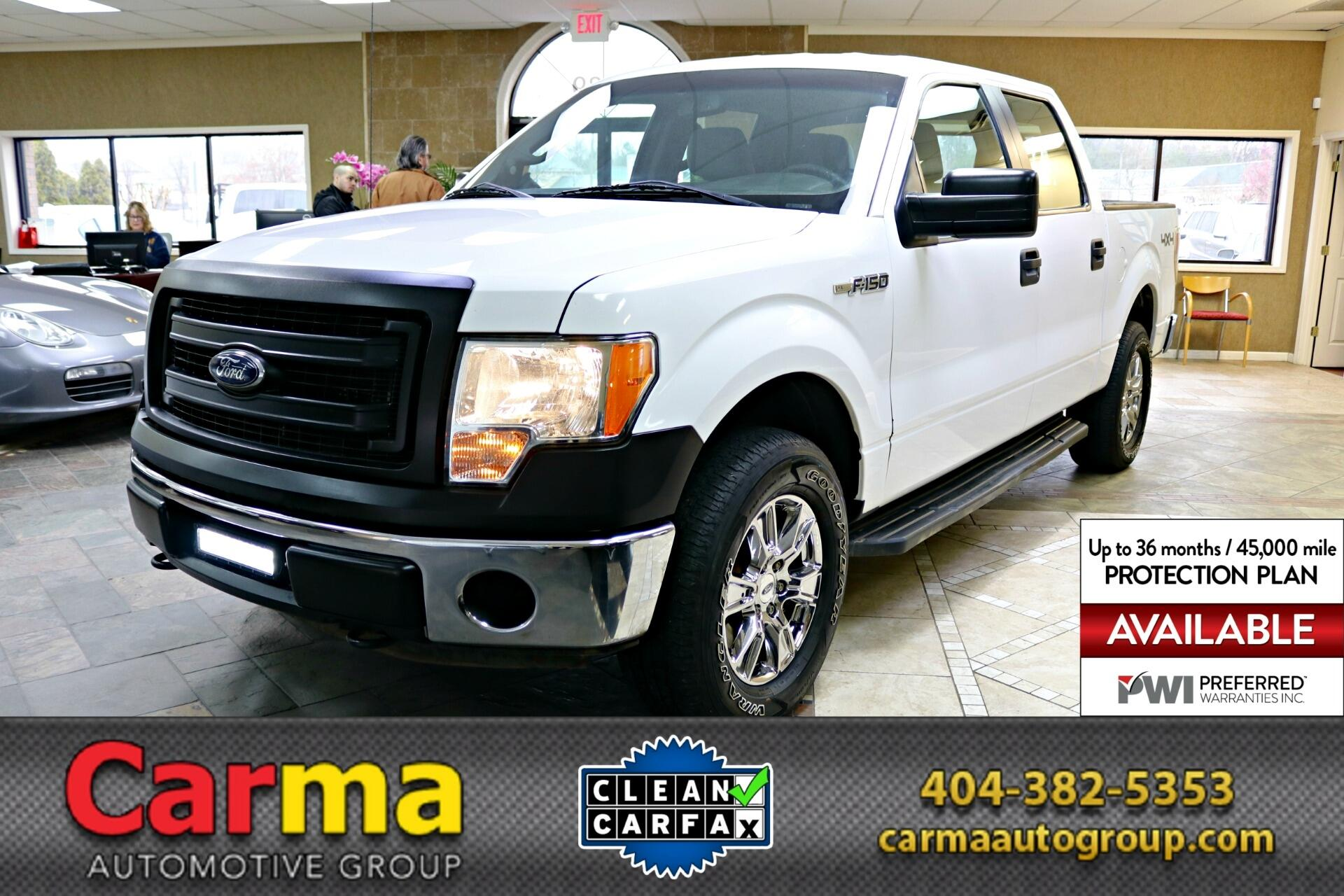 2014 Ford F150 XL SuperCrew 5.5-ft. Bed 4WD
