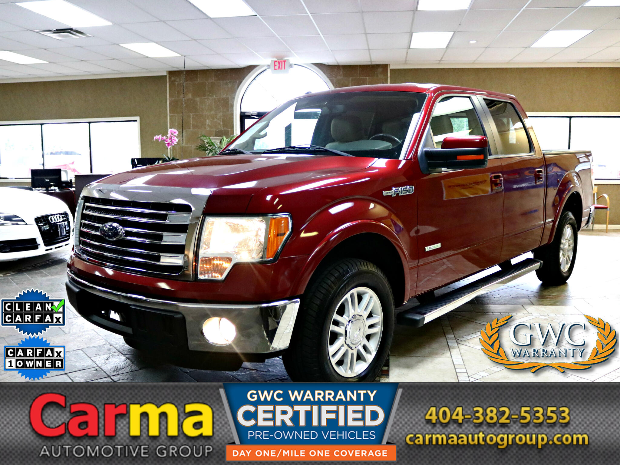 "2013 Ford F-150 2WD SuperCrew 139"" Lariat"