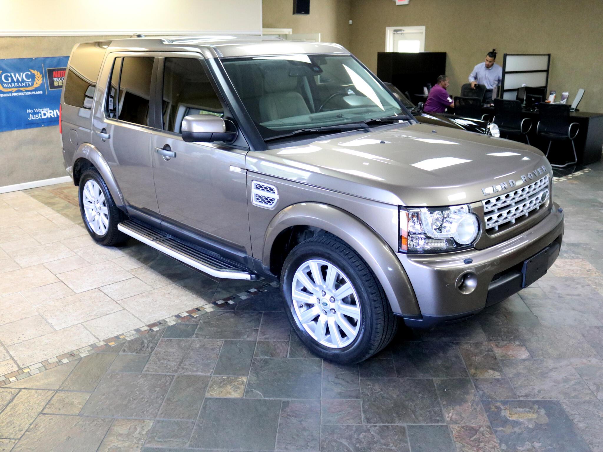 2012 Land Rover LR4 HSE LUXURY