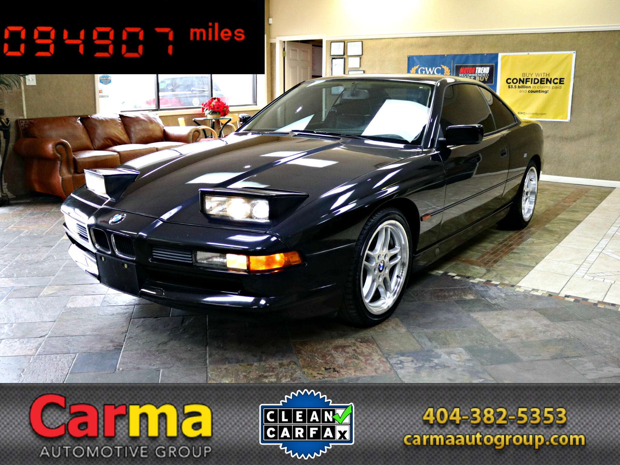 1997 BMW 8-Series 840Ci