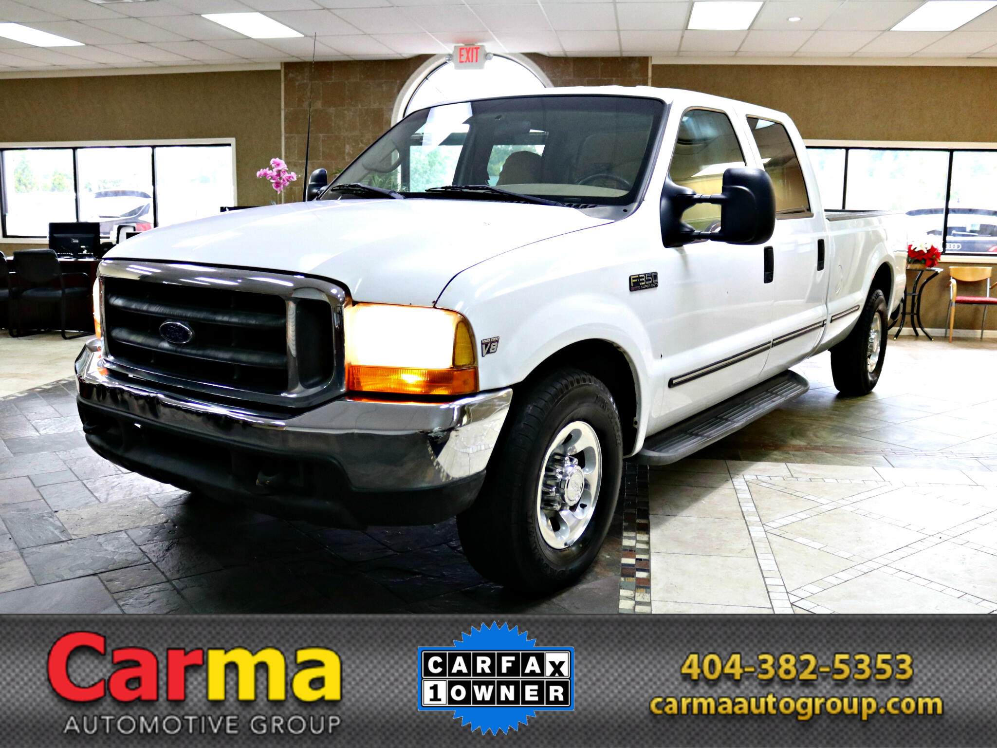 1999 Ford F-350 SD XLT Crew Cab Long Bed 2WD