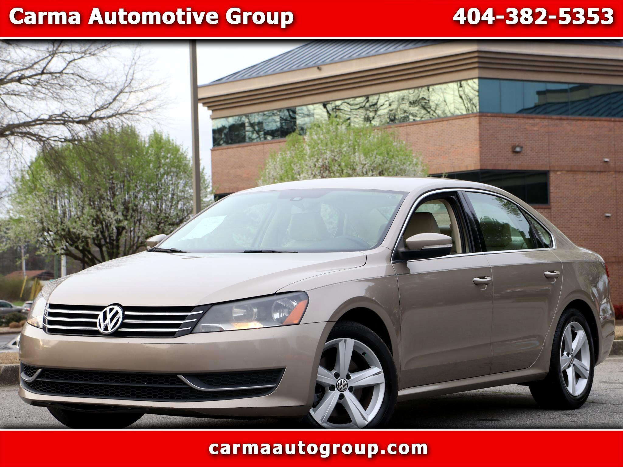 Used 2015 Volkswagen Passat Se For Sale In Duluth Ga 30096 Carma Automotive Group