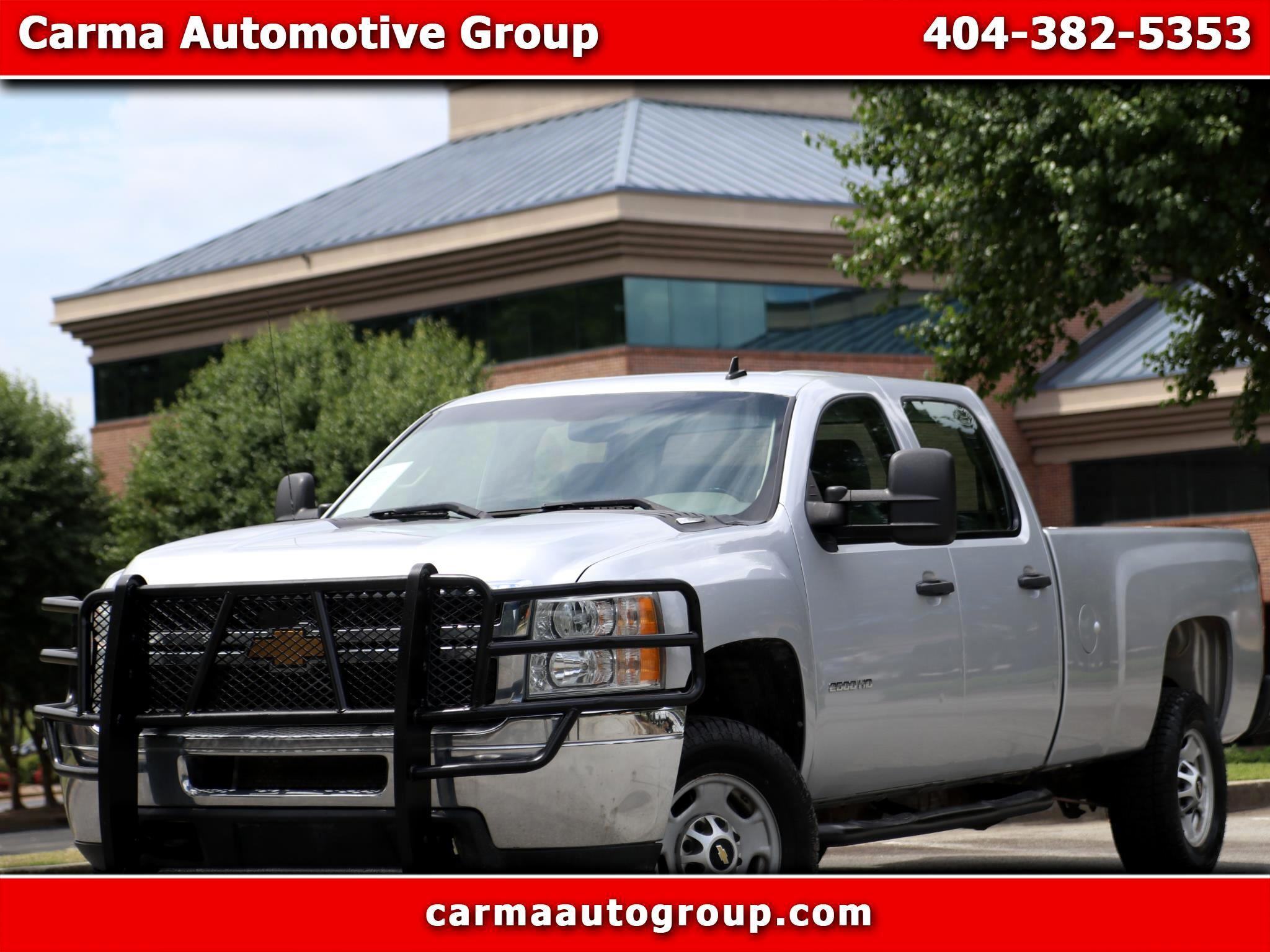 Chevrolet Silverado 2500HD LS Crew Cab Long Bed 4WD 2013