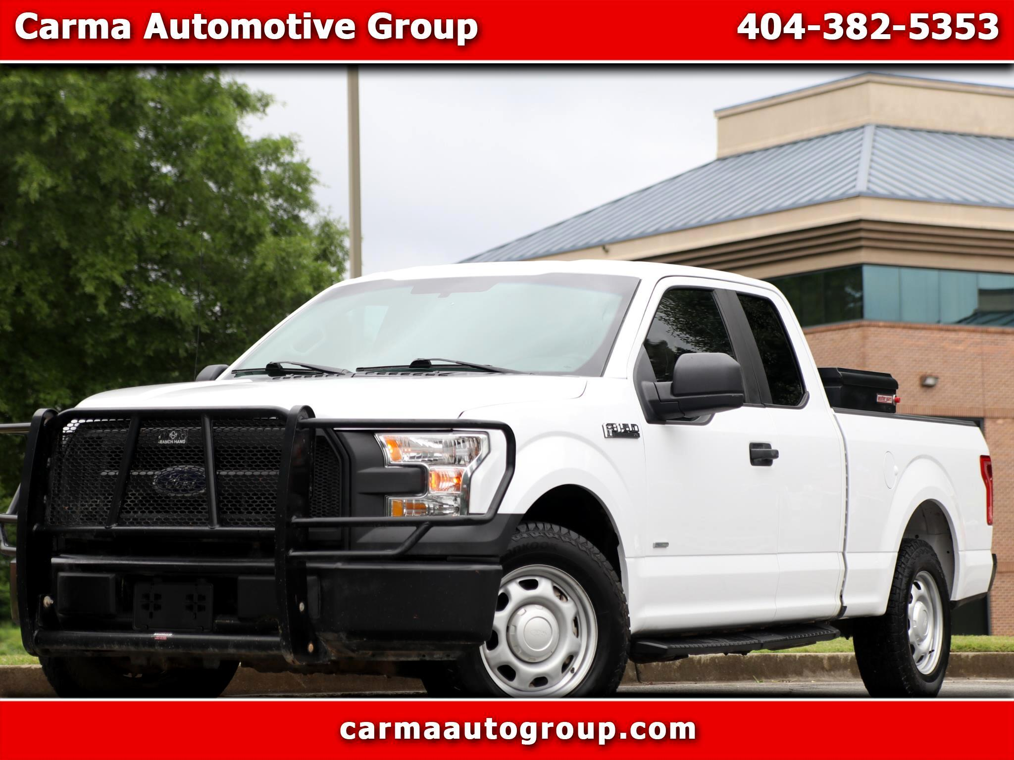 Ford F-150 XLT 2WD SuperCrew 5.5' Box 2017