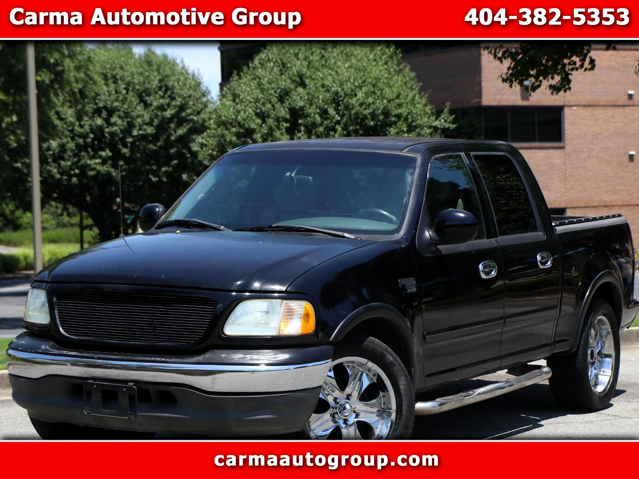 Ford F-150 Lariat 2WD SuperCrew 5.5' Box 2002
