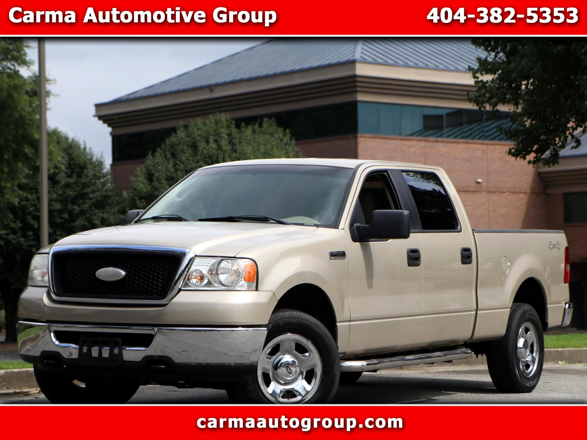 Ford F-150 XLT SuperCrew 5.5-ft. Bed 4WD 2007