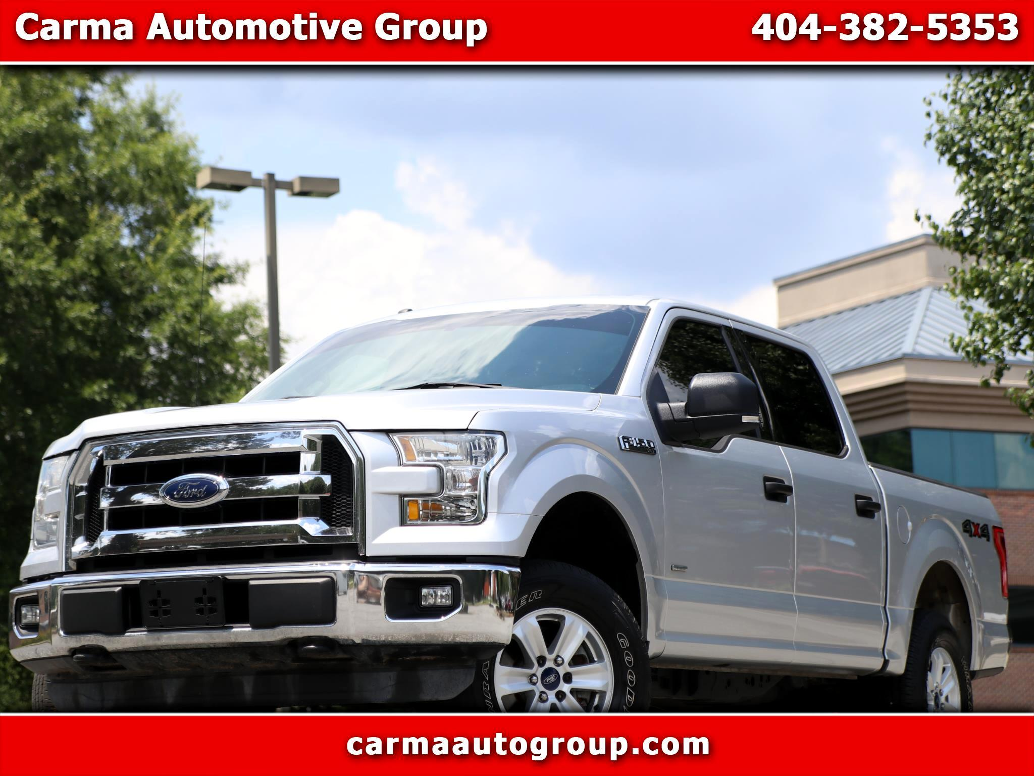 "Ford F-150 SuperCrew 139"" XLT 4WD 2015"