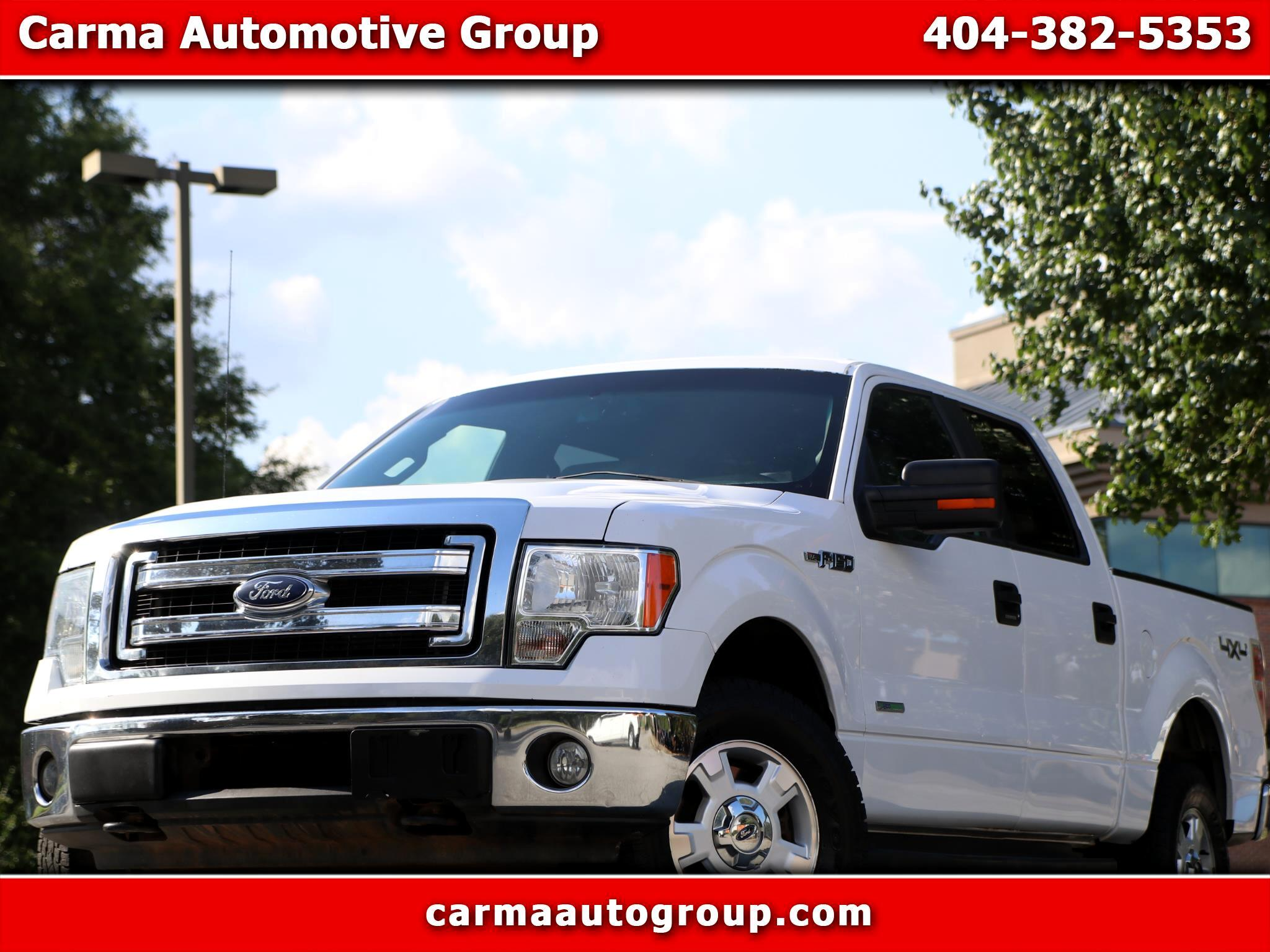 Ford F-150 XLT SuperCrew Short Bed 4WD 2014