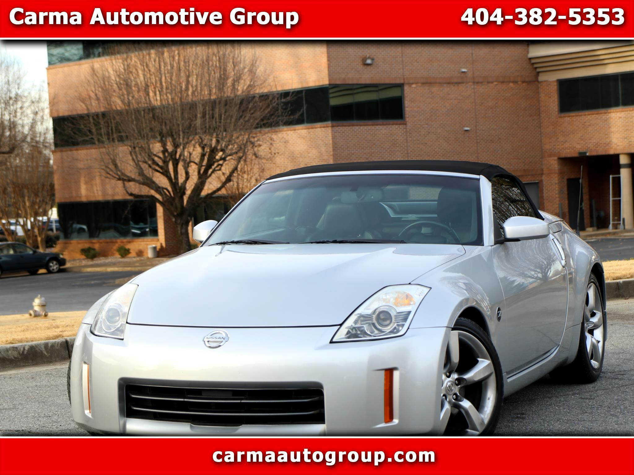 Used 2007 Nissan 350z 2dr Roadster Manual Touring For Sale In Duluth Ga 30096 Carma Automotive Group
