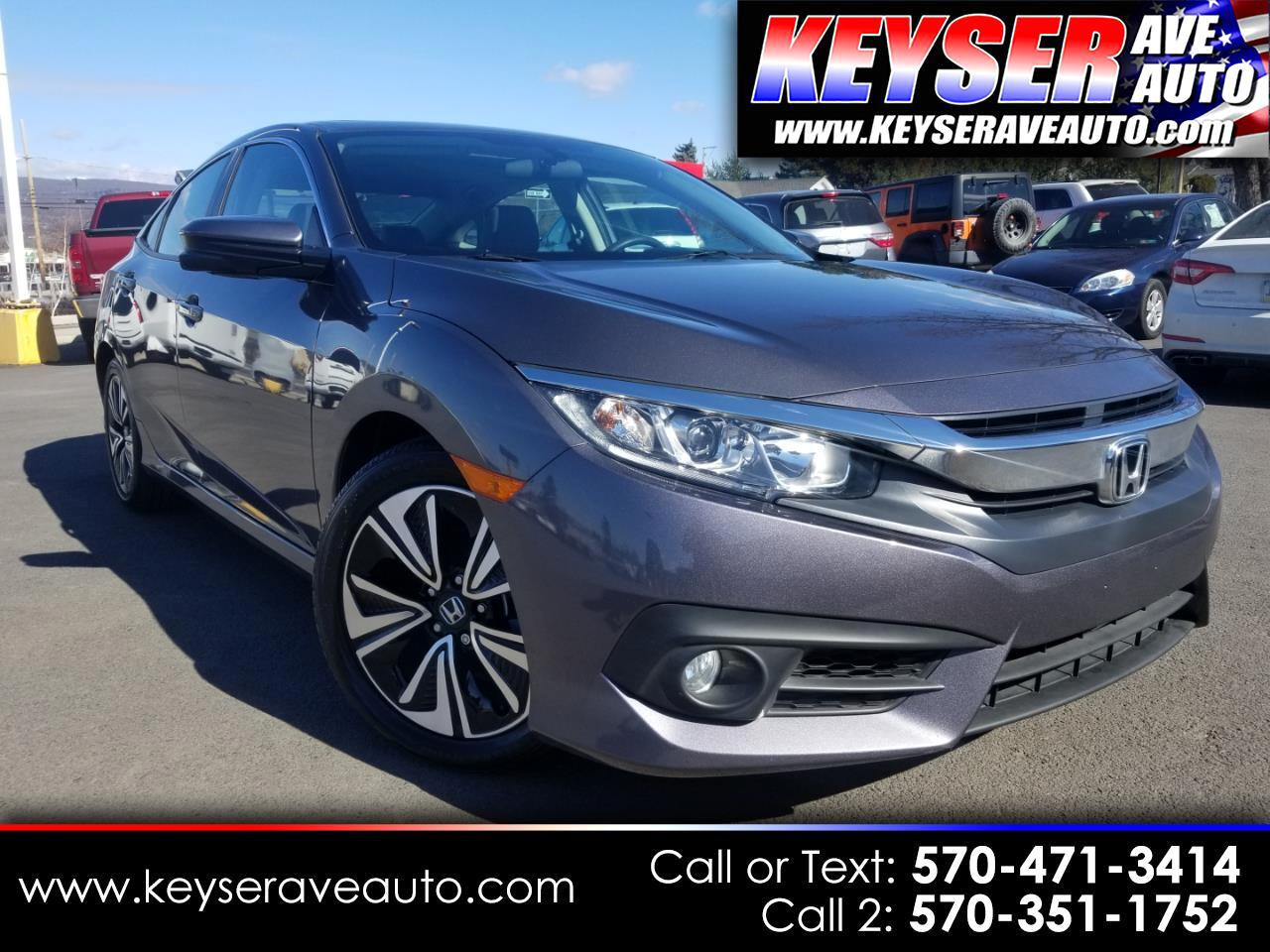 2016 Honda Civic EX-T Sedan CVT
