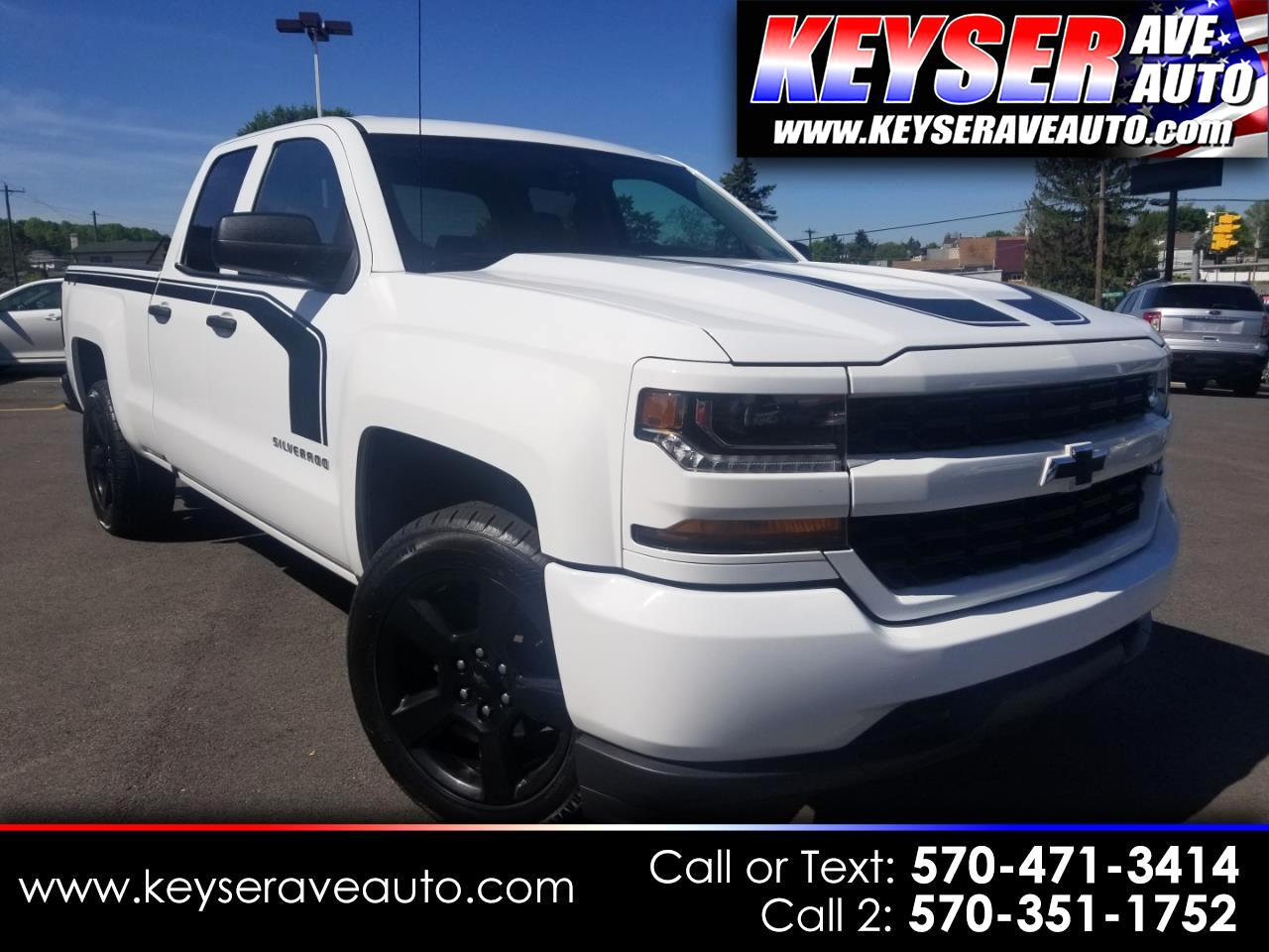 2017 Chevrolet Silverado 1500 Custom Double Cab 4WD 5.3