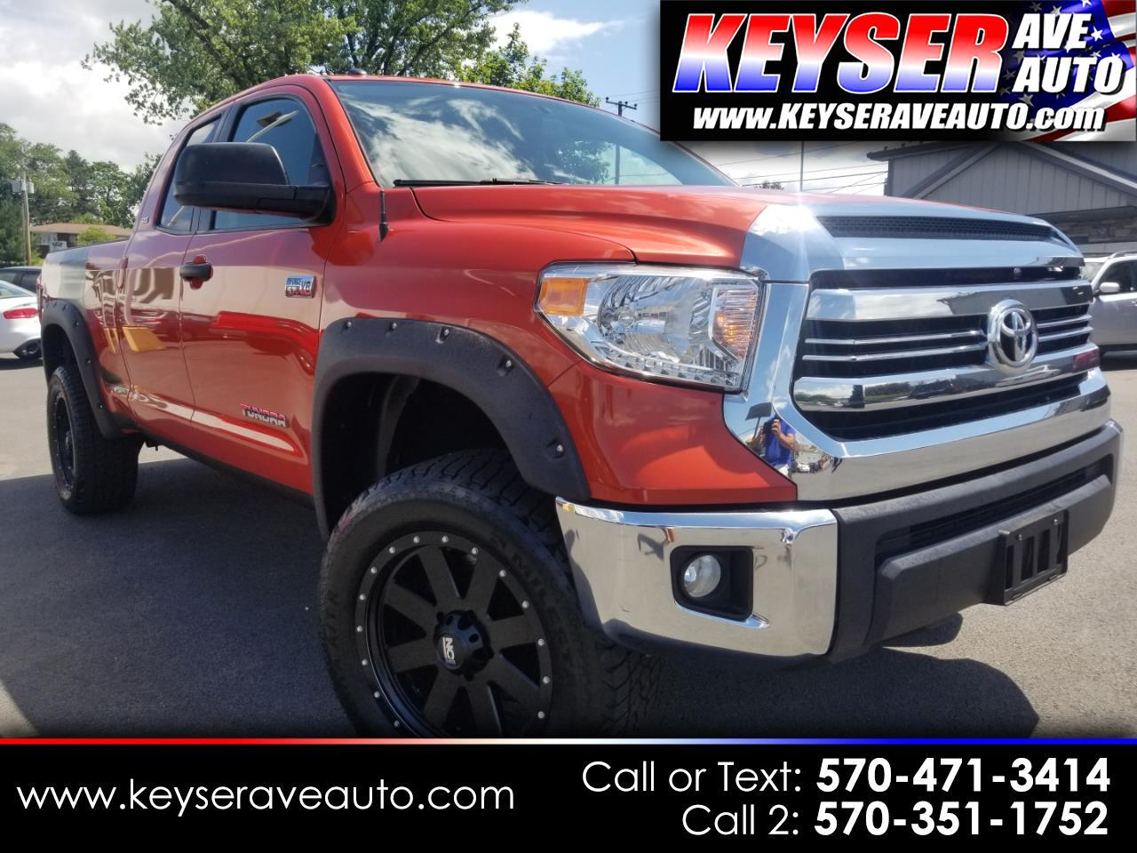 2016 Toyota Tundra SR5 V8 LIFTED DOUBLE CAB 4WD