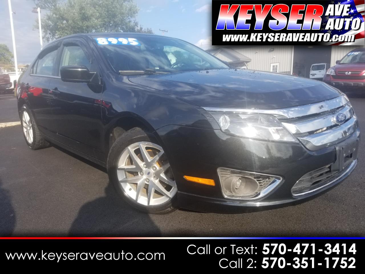 2012 Ford FUSION SEL AWD SEL