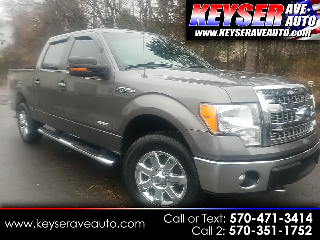 "Ford F-150 SuperCrew 150"" XLT 4WD 2013"