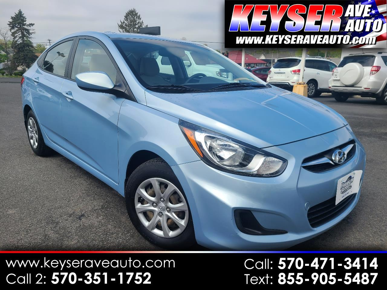 Hyundai Accent GLS 4-Door 2013
